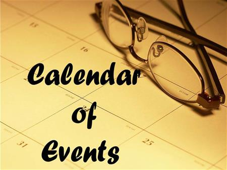 Calendar of Events Button