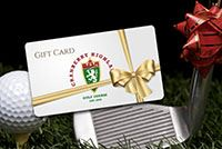 Gift Cards at Cranberry Highlands